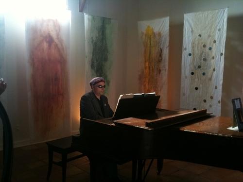 Mauro Dinucci Piano/ Enso Installation
