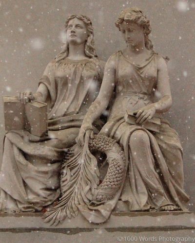 Statue Sisters by 1000 Words Photography