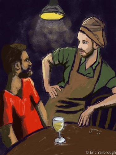 The Waiter of Madrid