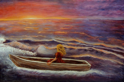 The Boat by Eyde Arndell