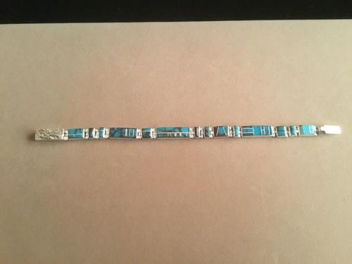 Nevada Turquoise Link Bracelet