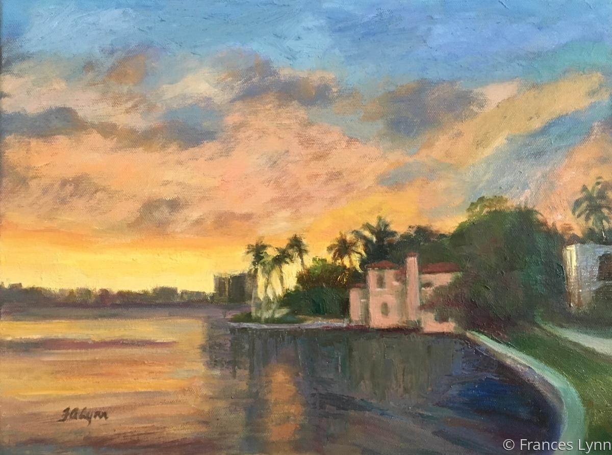 Sunset Palm Beach (large view)