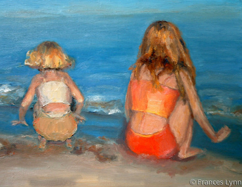 """""""Beach Play"""" (large view)"""
