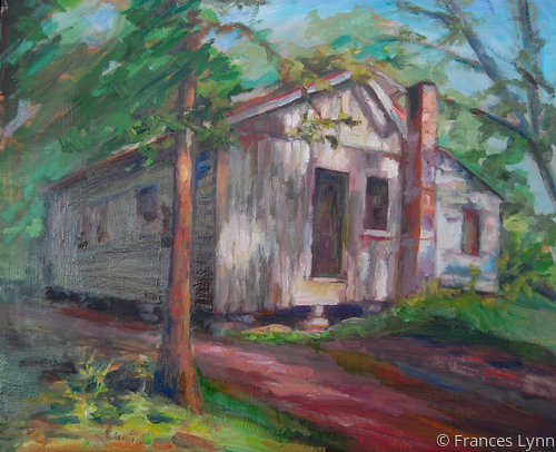 """Abandoned Schoolhouse"" (large view)"