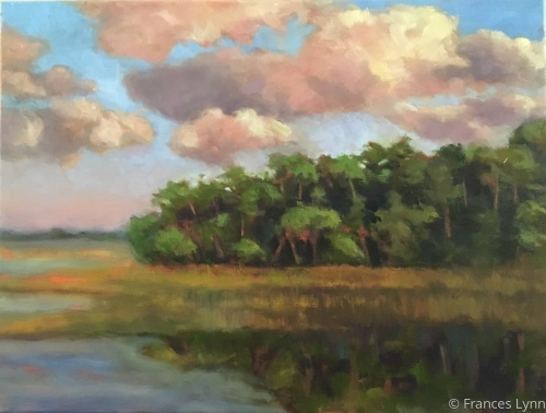 Moody Sky by Frances Lynn Fine Art