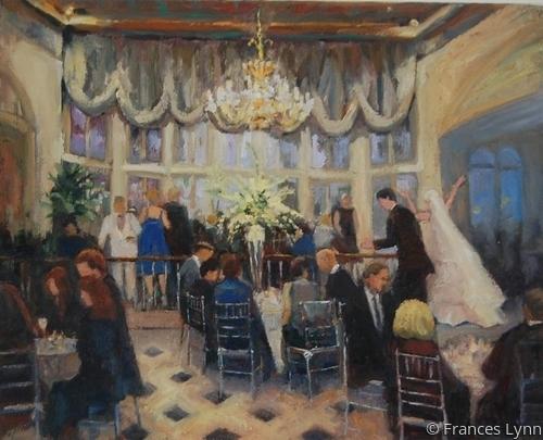 Ford-Dick Reception, Columbia Club by Frances Lynn Fine Art