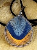 Peruvian Thread Pendant (thumbnail)
