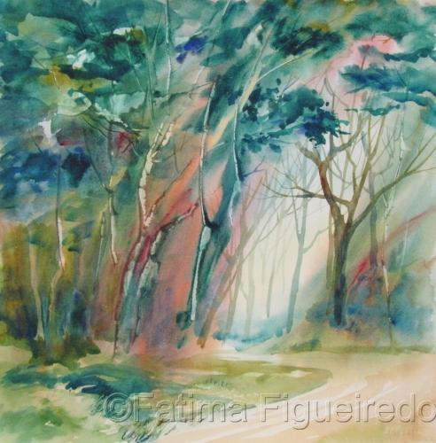 Enchanted Road II by Fatima Figueiredo