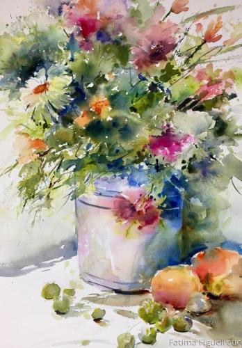 Everybody needs flowers by Fatima Figueiredo