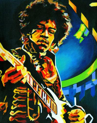 The Legend. Jimi Hendrix