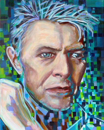 Destined To Infinity. Tribute To David Bowie