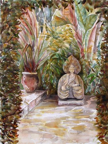 Buddha Garden, L.A.