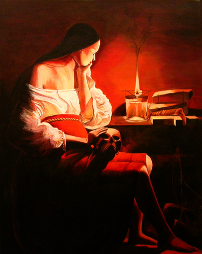 The Magdalene with the Smoking Flame