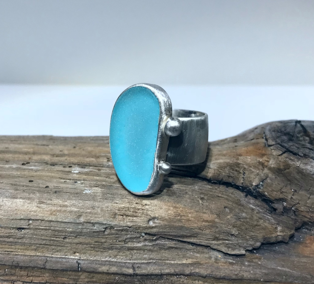 Turquoise Turtle Ring (large view)