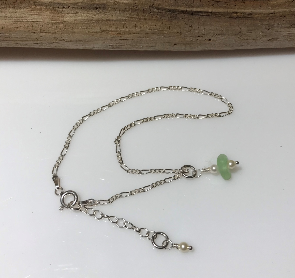 Green Envy Anklet (large view)