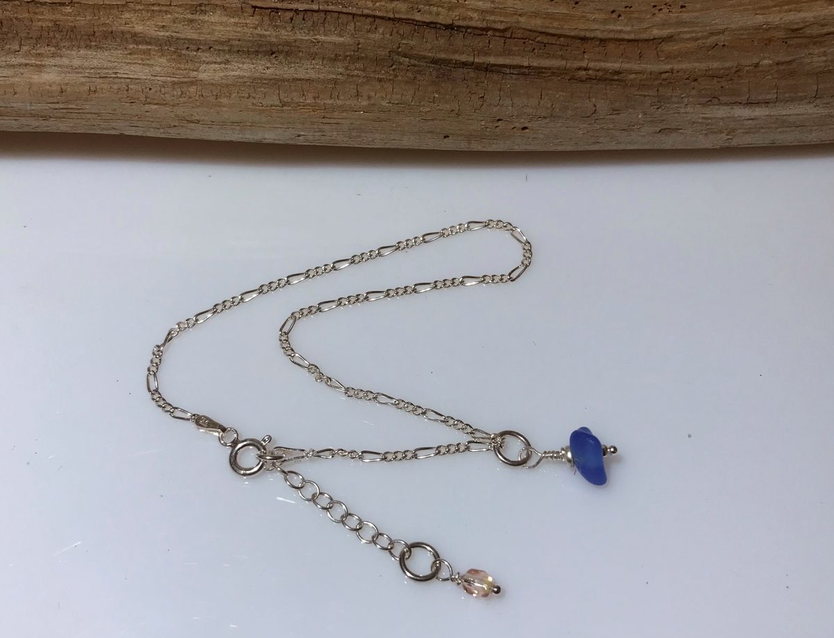 Crazy Cobalt Anklet (large view)