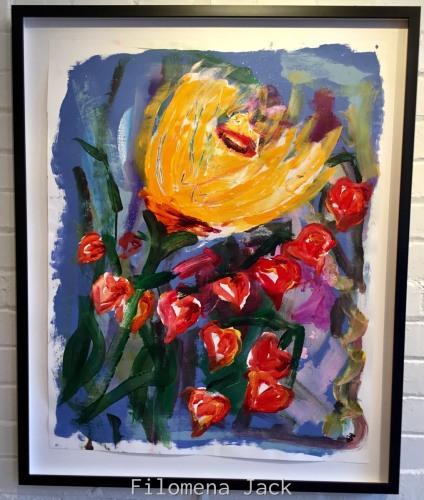 Italian Flowers 1 by Filomena Jack Studio