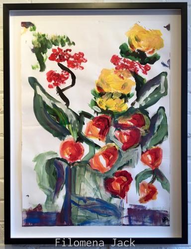Italian Flowers 2 by Filomena Jack Studio