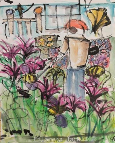 Bee Balm & Friends