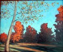 Sugar Maples in Fall (thumbnail)