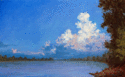 Cloudset on the Missouri River. (thumbnail)
