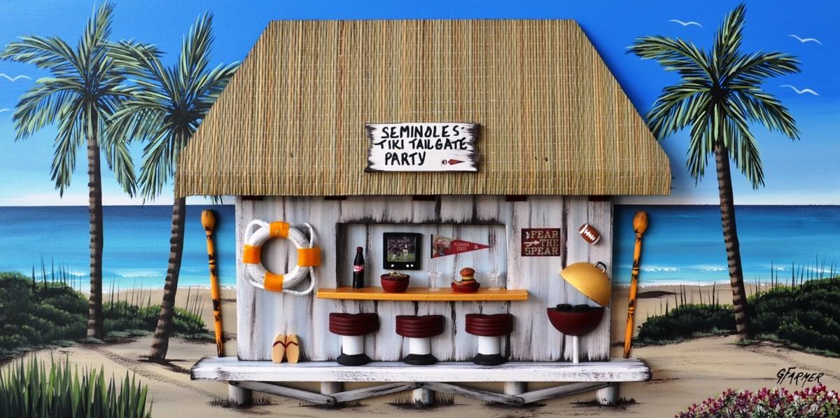 Florida Seminoles Tiki Tailgate Party (large view)