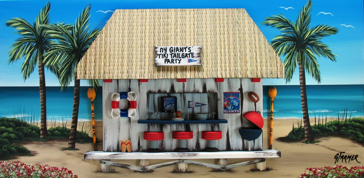 New York Giants Tiki Tailgate Party (large view)