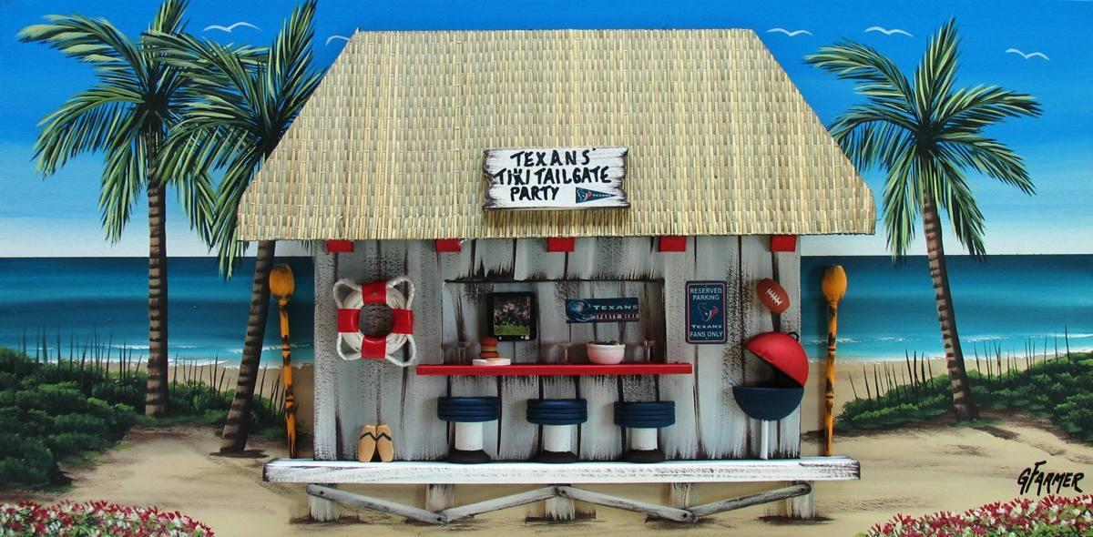 Houston Texans Tiki Tailgate Party (large view)
