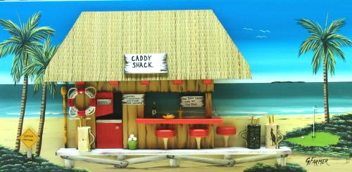 Caddy Shack Golf Bar by Floribeanart