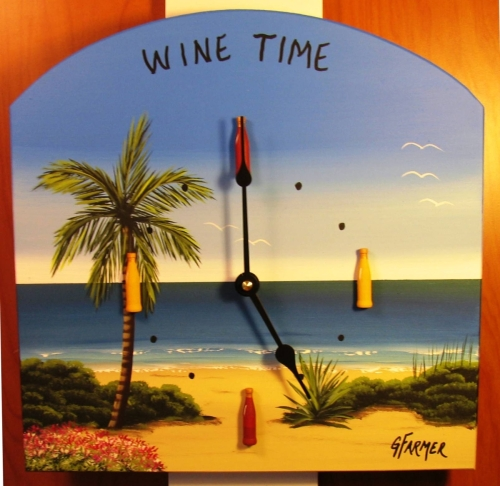 "It's ""Wine Time"""