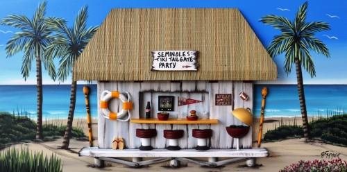 Florida Seminoles Tiki Tailgate Party