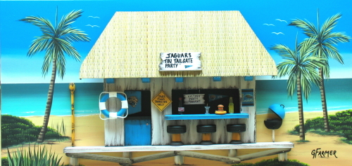 Jacksonville Jaguars Tiki Tailgate Party