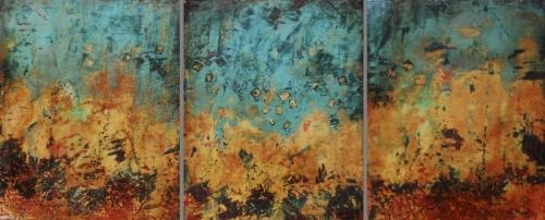 Triad (Cio-Cio San) triptych