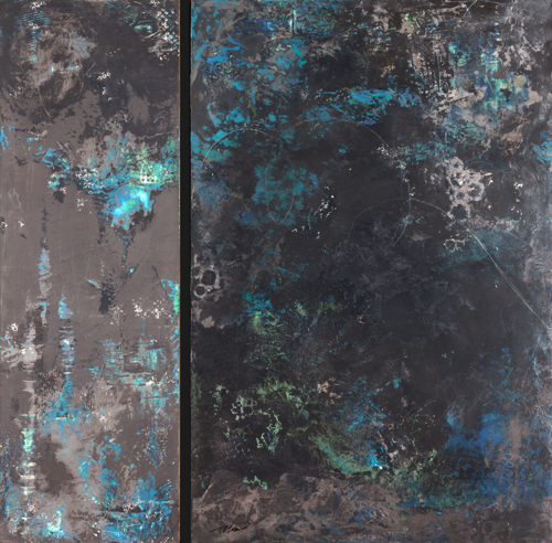 Dawn | Dusk (Diptych) by FLORENCE MOONAN