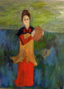 Woman with Vase (thumbnail)