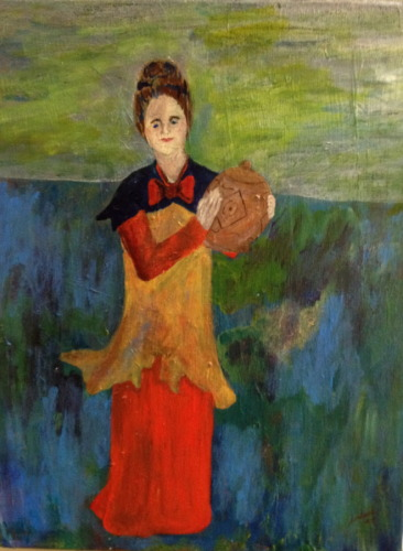 Woman with Vase