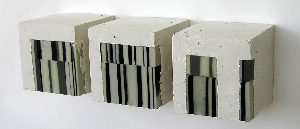 Gene Berg, Concrete, encaustic (large view)