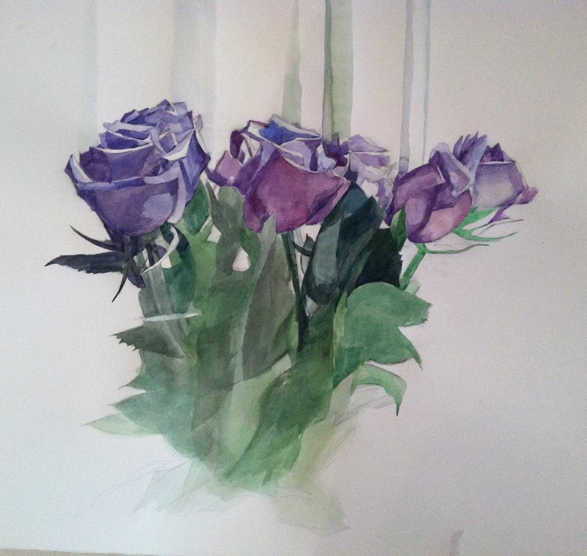 Purple Flowers (large view)