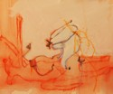 Rising Spirit, From Dream Drawing # Two (thumbnail)