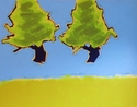 Two Ascending Pines (thumbnail)
