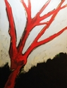 Red Tree at Sunset (thumbnail)