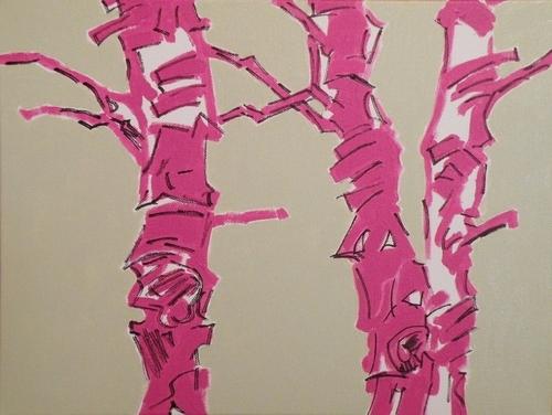 Iced Birches