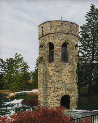 Chimes Tower by Frank DePietro