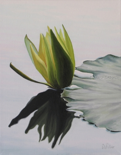 Water Lilies #20 by Frank DePietro