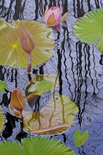 Water Lilies #29 by Frank DePietro Fine Art