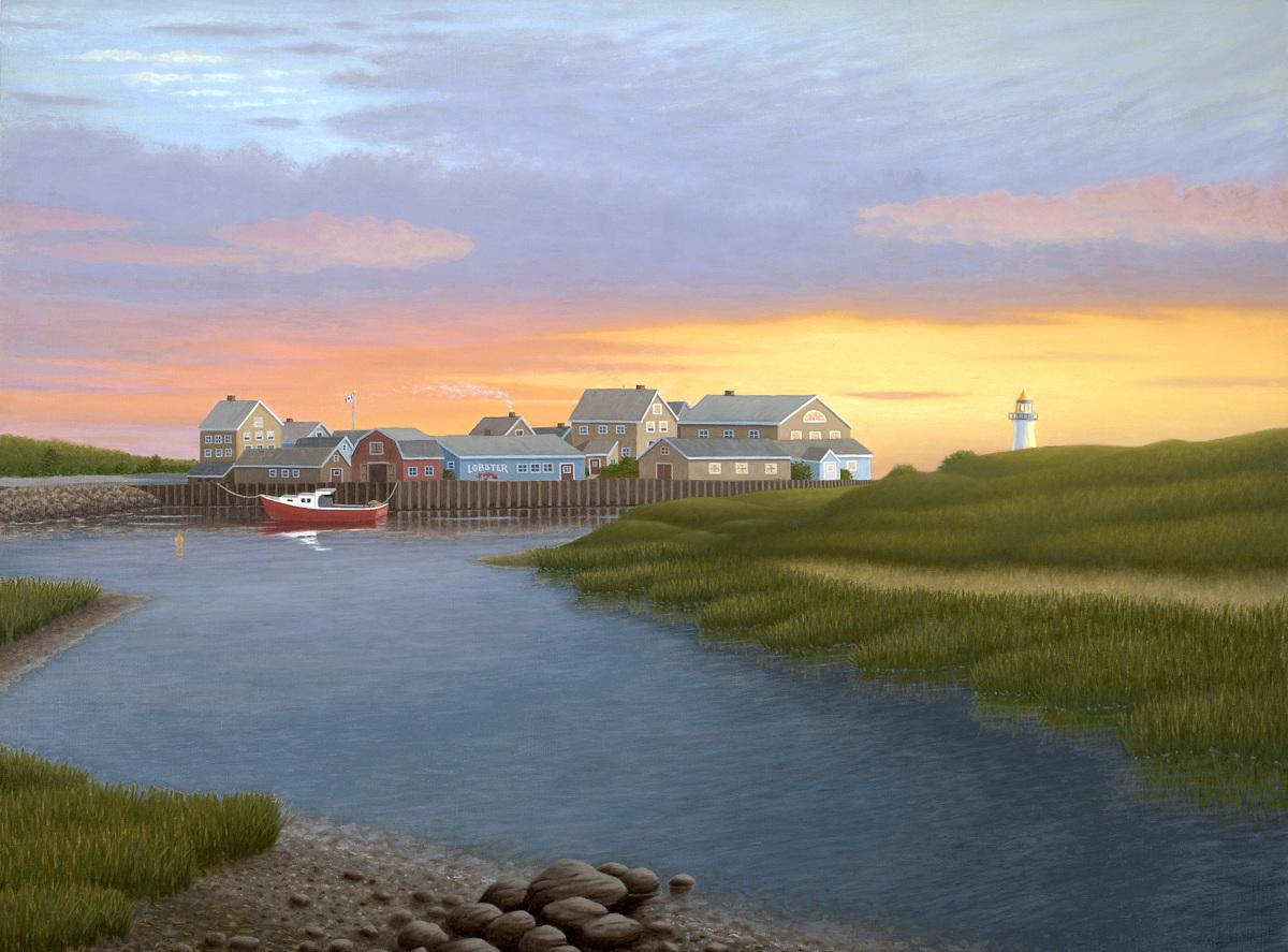 Nova Scotia Sunrise (large view)