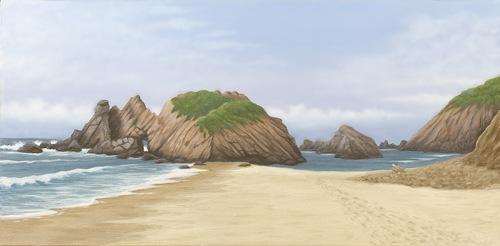 Pfeiffer Beach Big Sur (large view)