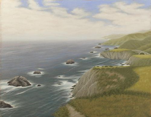 Big Sur Coast by Frank Weitzman