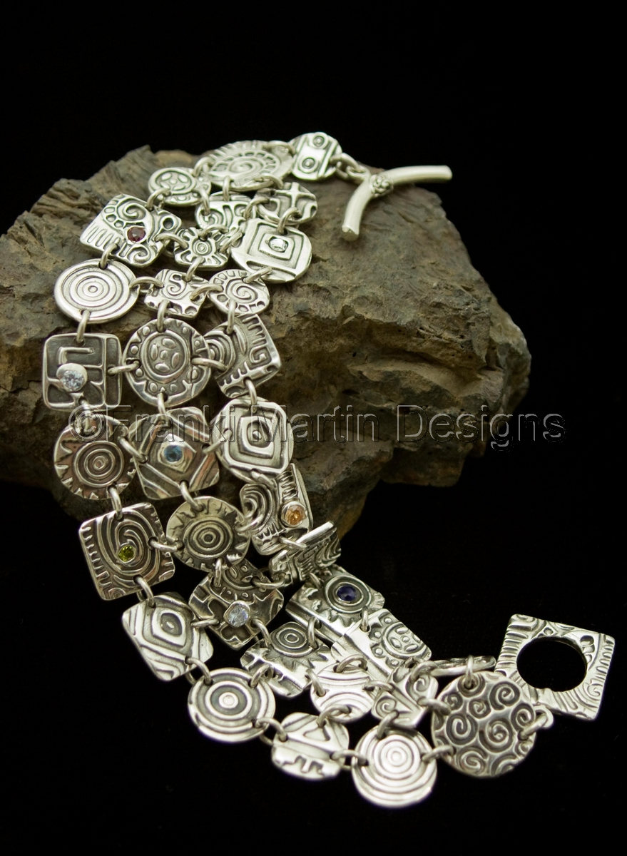 """""""Puzzle Bracelet"""" (large view)"""