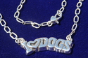 I Love Dogs Necklace (thumbnail)